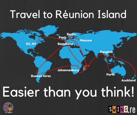 How to travel to Réunion Island - easier than you think - Swingin' Réunion www.swing.re
